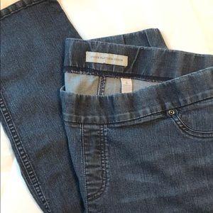Chico's Stretch Platinum Denim Jeans